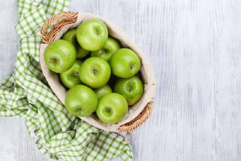 グリーンアップル 脂肪を燃焼する食べ物