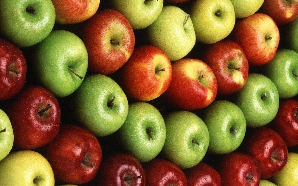 りんご 化学肥料やスプレーが使われているかわかる食材