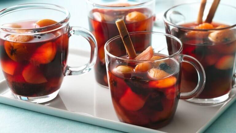 フルーツポンチ クリスマスパーティーシーズンにおすすめの飲み物