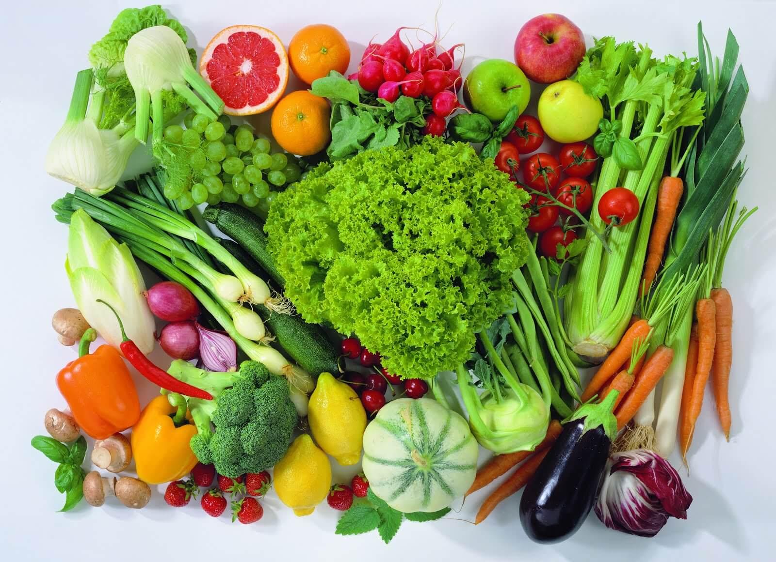 くだものと野菜