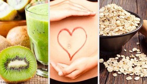 腸の動きを活発にする8つの食材
