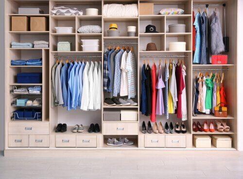 整理整頓が簡単に!衣類の手作りオーガナイザー