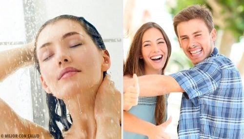 冷たいシャワーを浴び始めて気付く10の変化