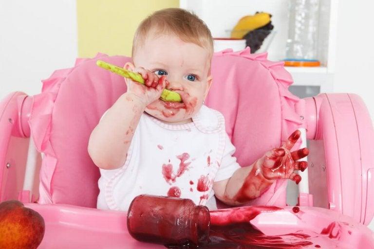 食べる赤ちゃん 腸内寄生虫