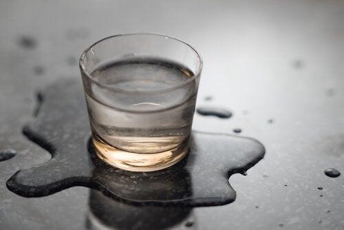 フッ素入りの水