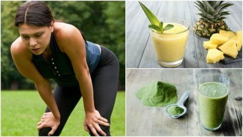 筋肉疲労を克服する5つのスムージー
