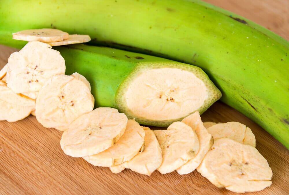 青いバナナ 効果 2
