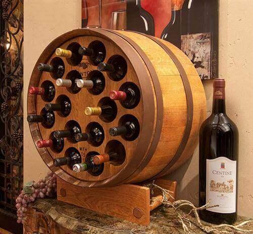リサイクル 家具:ワインホルダー