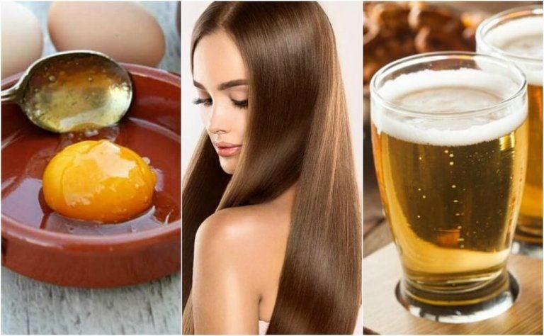 滑らかで健康的な髪の毛に!卵とビールのヘアトリートメント