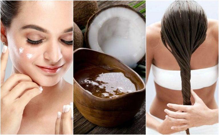 美容に良いココナッツオイルの5つの使い方