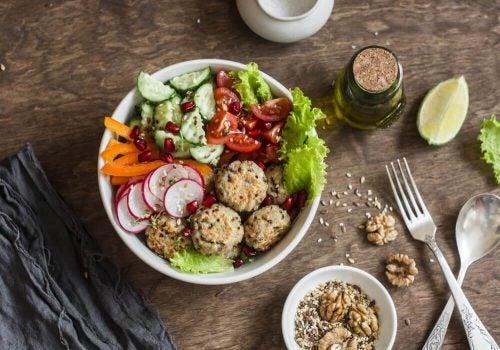 キヌアとひよこ豆のミートボールの簡単レシピ