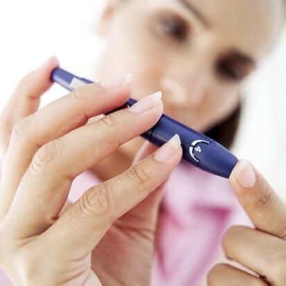 妊娠糖尿病の女性