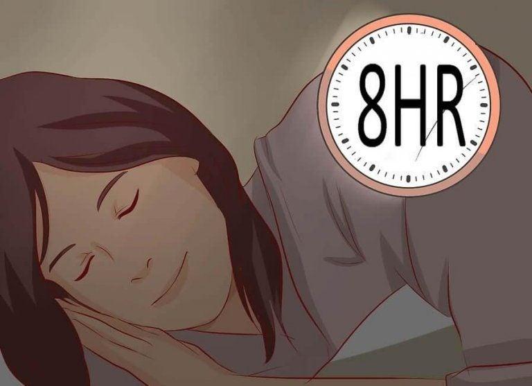 夜にぐっすり眠る方法