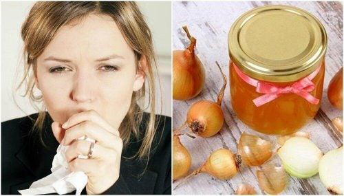 ハチミツと玉ねぎの自家製咳止めシロップの作り方