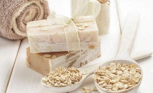 オートミール石鹸 を作る方法