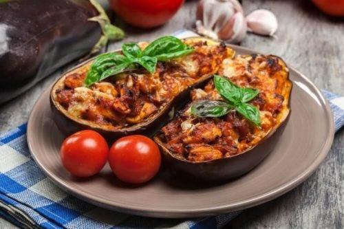 おいしい茄子の肉詰めのレシピ