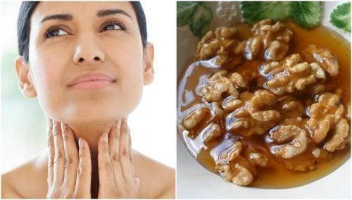 甲状腺の健康維持に!  ハチミツとナッツを使った自然療法