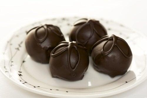 簡単トリュフチョコレートレシピ