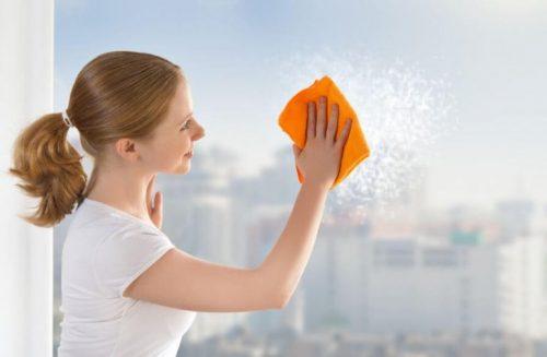 窓をぴかぴかにする方法