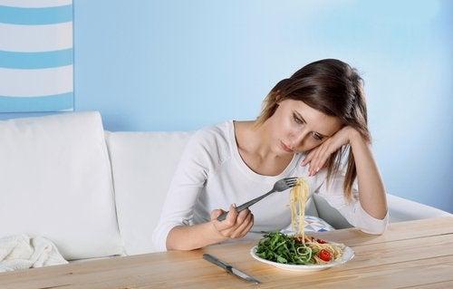 鬱状態の食事