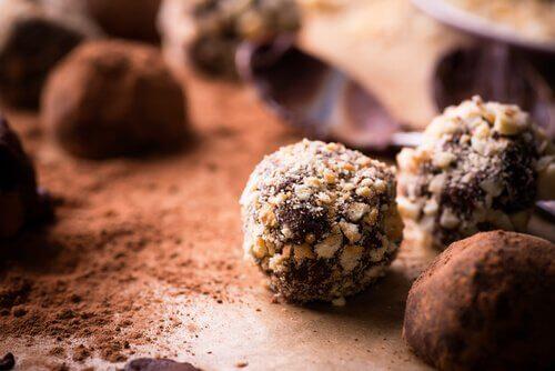 低カロリートリュフチョコレート