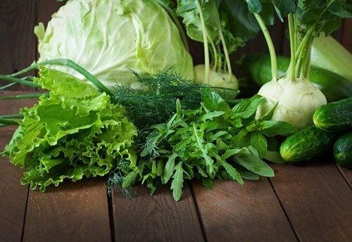 緑野菜 善玉菌