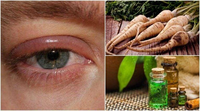 目の腫れを抑える5つの家庭療法