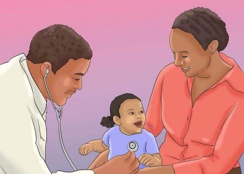 赤ちゃんを病院に連れていくべき時に見られる7つのサイン
