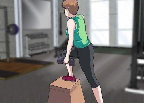 筋肉肥大にならないエクササイズルーティーン