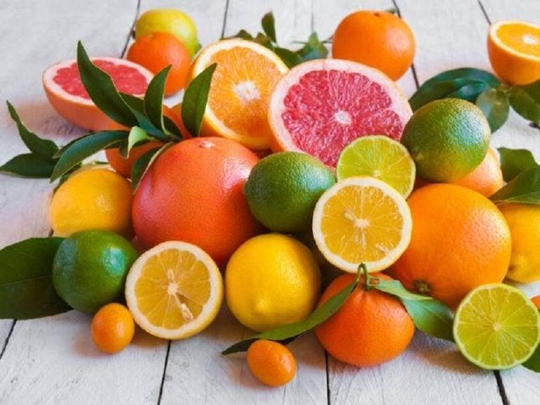 柑橘果物 ボディースクラブ