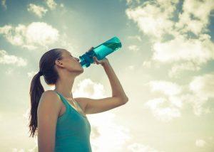 水分補給 慢性疲労