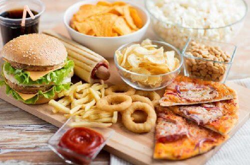 不健康な食事 慢性疲労
