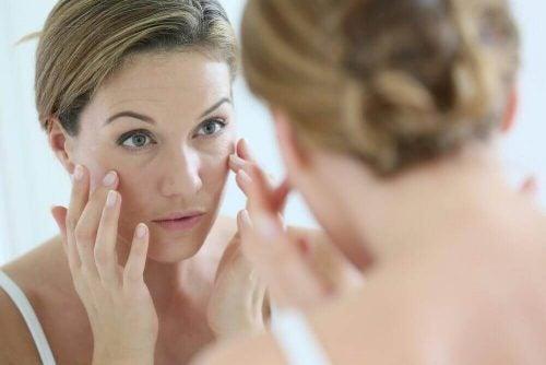 早期老化 キヌアで洗顔