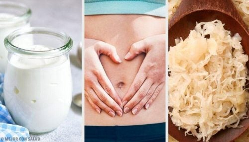 健康な腸内を作る善玉菌入りの食品