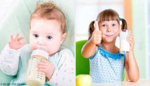 子供に一番良いのはどのミルク?