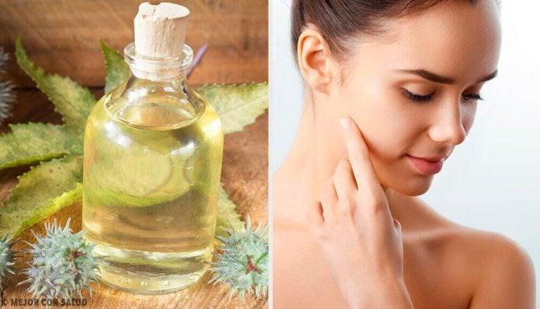 ヒマシ油の驚きの効果:顔に使う方法