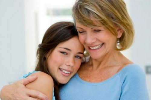 母親からの愛