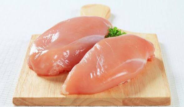 調理前の鶏肉