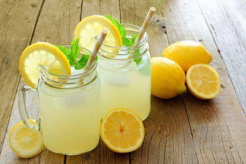 レモンジュース レモン・フラックスシードウォーター