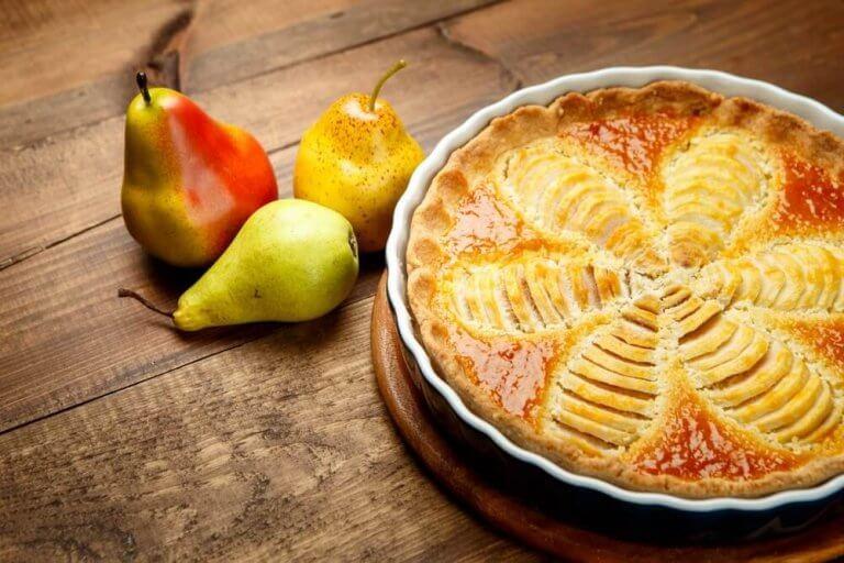 ヘルシーなデザート:洋梨パイの作り方