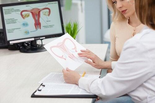 婦人科医の診察