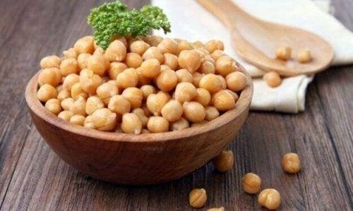 ひよこ豆の効能