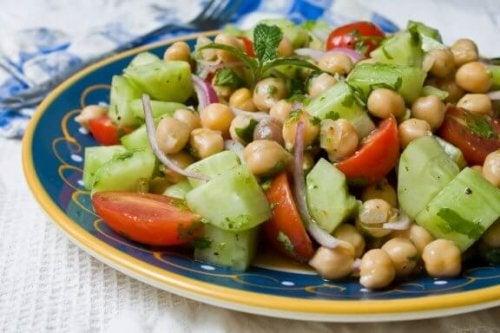 美味しいひよこ豆サラダのレシピ4選