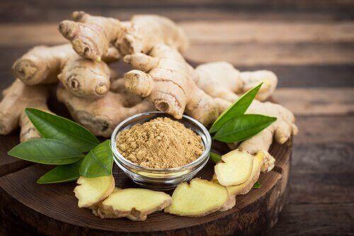 肌の健康に役立つ生姜を使った6つの自然療法