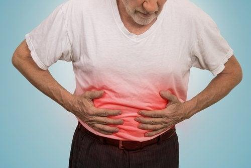 胃潰瘍の痛み