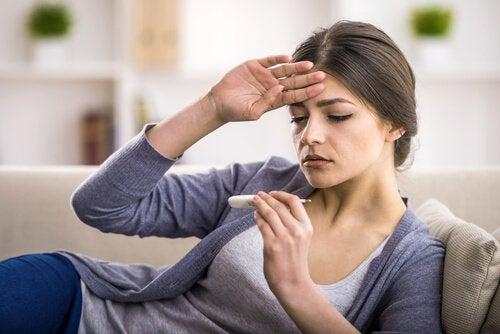 発熱の症状を緩和する自然療法