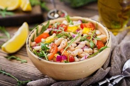豆サラダのレシピ2種