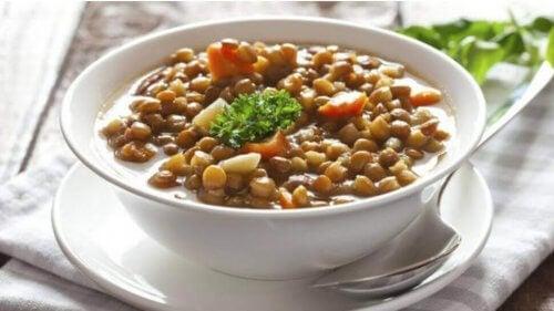 レンズ豆のレシピ