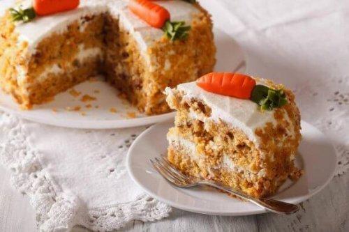 脂肪分ゼロの美味しいキャロットケーキ