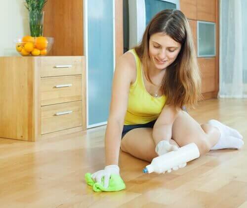 天然成分の床用洗剤